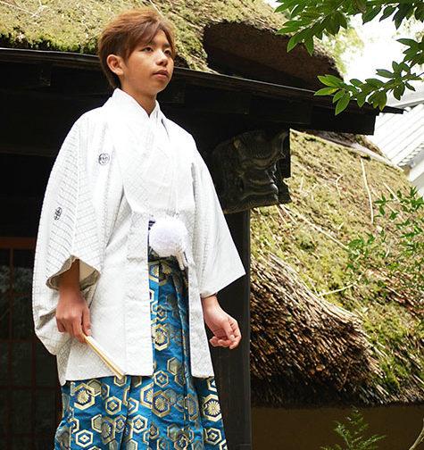 男袴レンタル着付け写真(成人式)1
