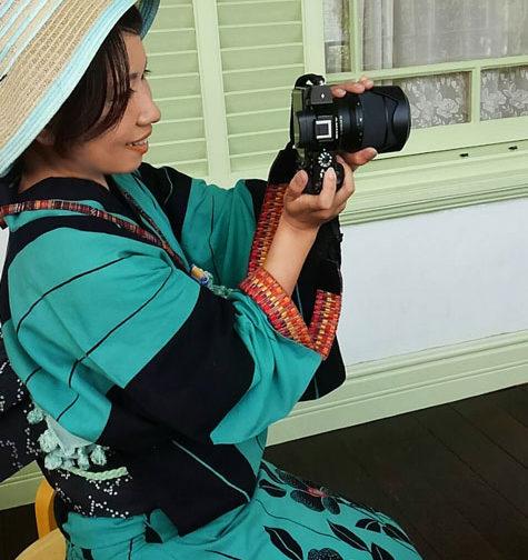 浴衣着付け夏写真(神戸)1