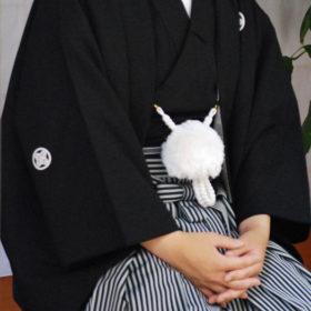 男の袴レンタル着付け写真