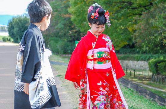 七五三女の子髪型日本髪写真