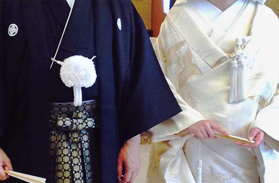 結婚式新郎衣装に男性は紋付き袴