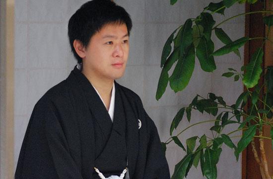 大学生卒業式袴レンタル着付け写真