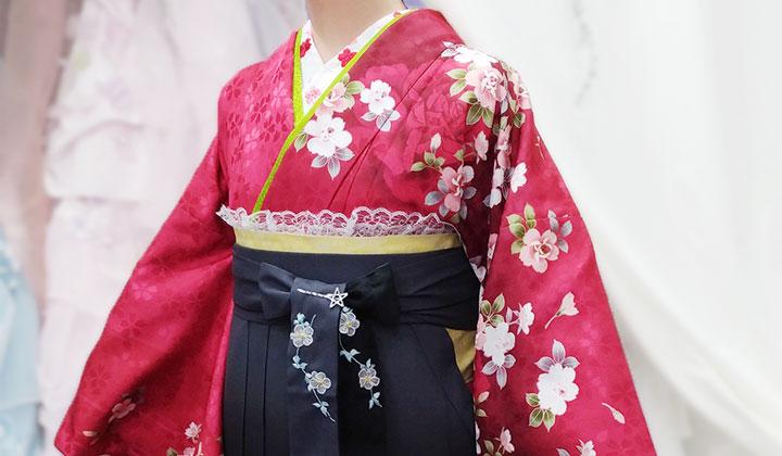 小学生女の子袴着物写真