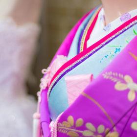 花嫁の着物引き振袖写真