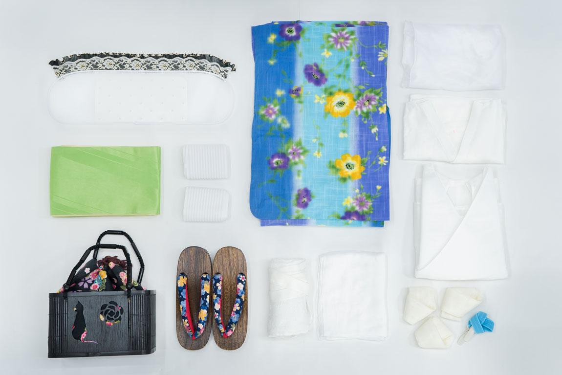 浴衣レンタルフルセット写真