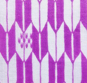 袴の矢絣デザイン、矢羽根柄