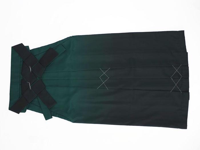 深緑ぼかし袴画像