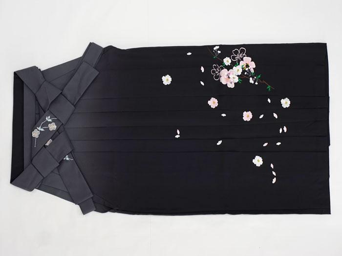 黒色袴ぼかし