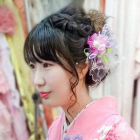 袴髪型ヘアスタイル写真