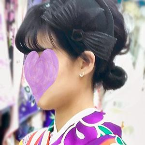 モダン袴レンタル写真